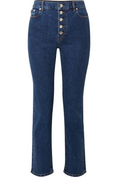 Joseph - Den High-rise Slim-leg Jeans - Blue