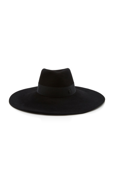 Maison Michel Pina Timeless Waterproof Felt Hat in black
