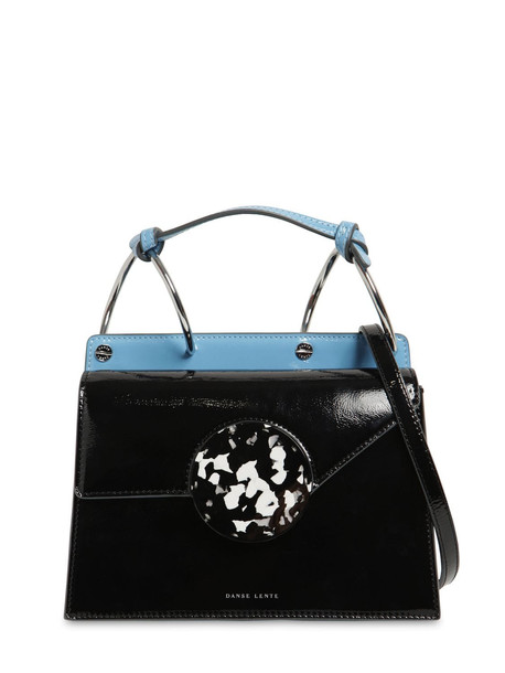 DANSE LENTE Phoebe Bis Leather Shoulder Bag in black