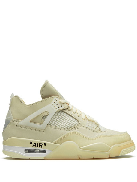 Nike X Off-White Air Jordan 4 off-white sail sneakers