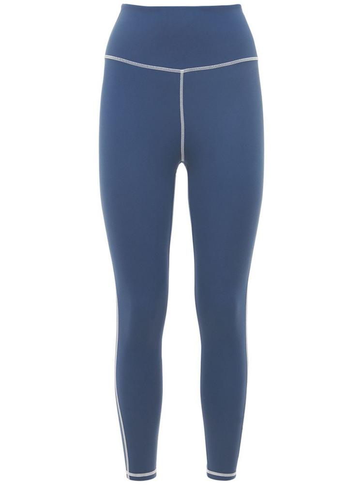 WEWOREWHAT Corset Leggings in blue