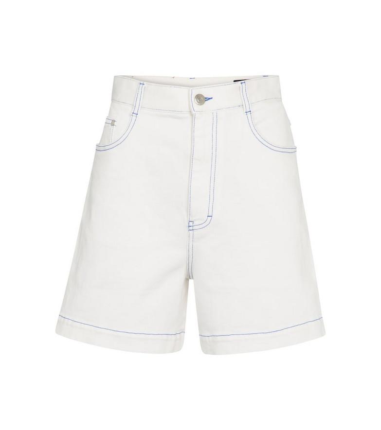 Stella McCartney Denim shorts in white