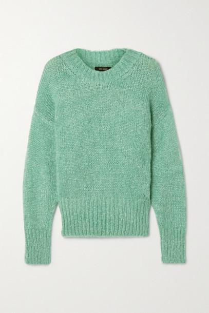 Isabel Marant - Estelle Mohair-blend Sweater - Teal