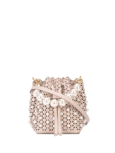 Zac Zac Posen lacey crossbody bag in pink