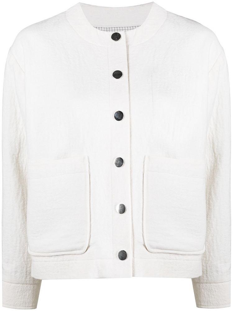 A.P.C. A.P.C. Lucile bomber jacket - White