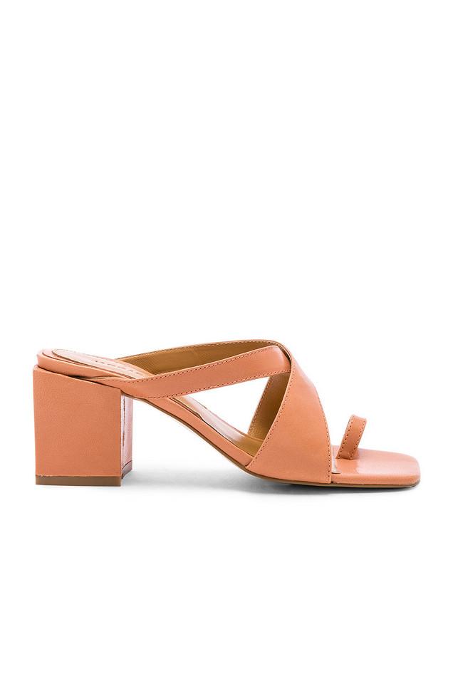 JAGGAR Converge Sandal Heel in brick