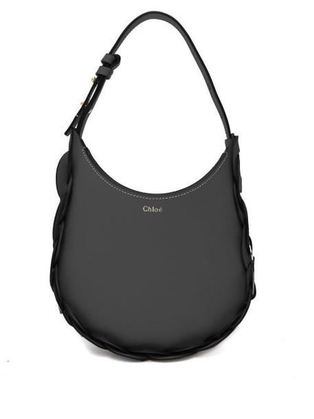 Chloé Chloé - Darryl Medium Grained-leather Shoulder Bag - Womens - Black