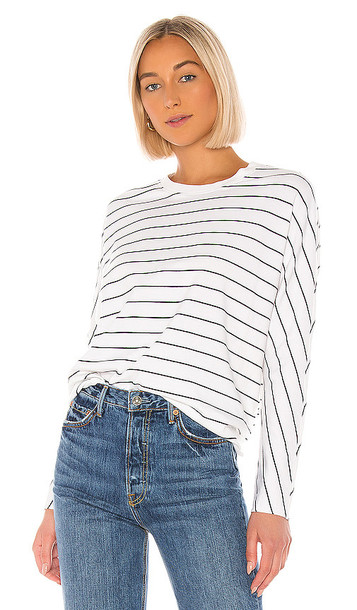 Frank & Eileen Tee Lab Oversized Continuous Sweatshirt in White