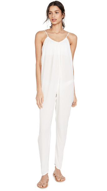 WeWoreWhat Kaia Cover Up Jumpsuit in white