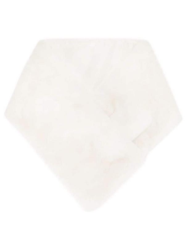 Apparis Luna faux-fur scarf in white