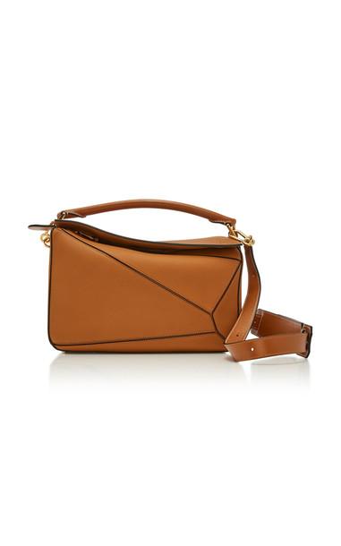 Loewe Puzzle Leather Bag in brown