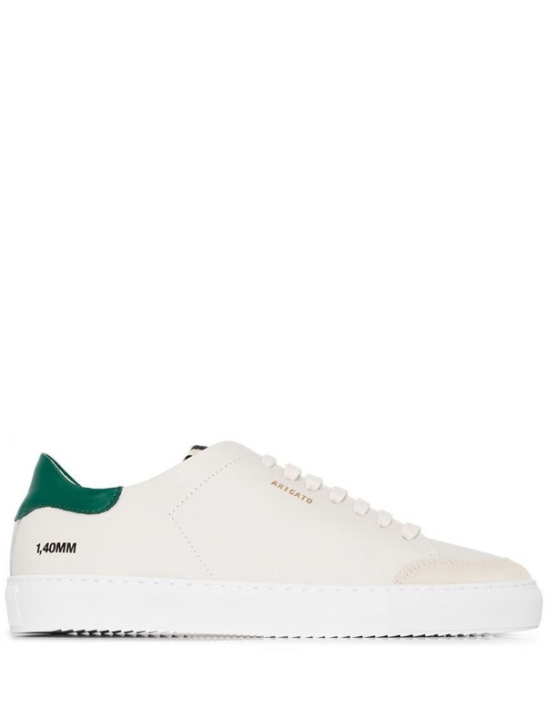 Axel Arigato Clean 90mm leather sneakers in neutrals