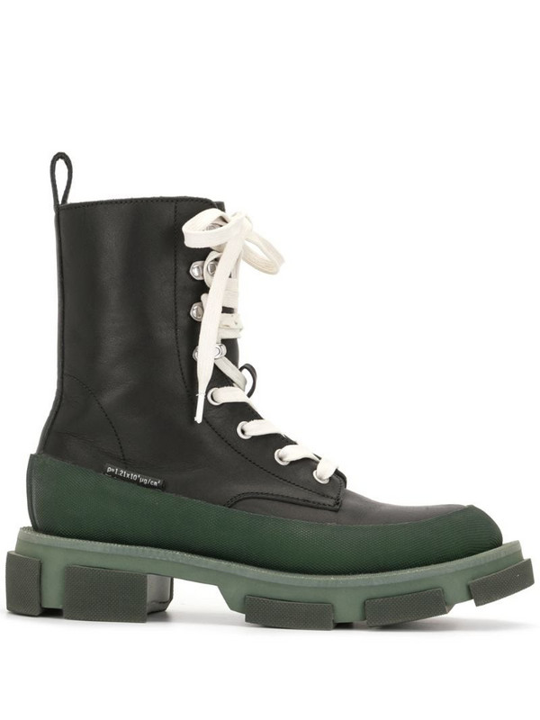 Monse x Both Gao high leather boots in black