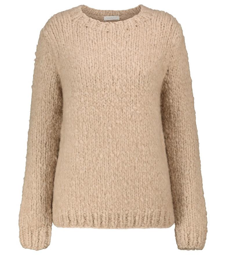 Gabriela Hearst Lawrence cashmere sweater in beige