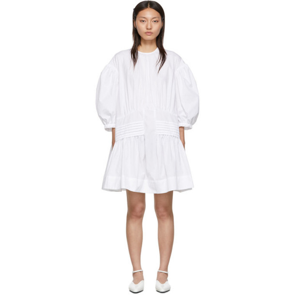 Simone Rocha White Smock Dress