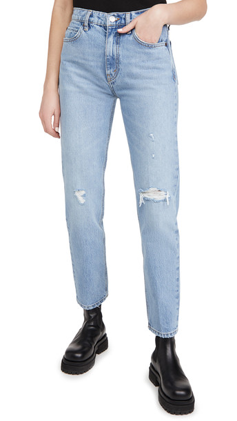 RE/DONE 70's Straight Jeans in indigo