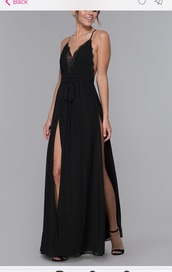 dress,promgirl,black dress,lace dress,maxi dress,prom dress