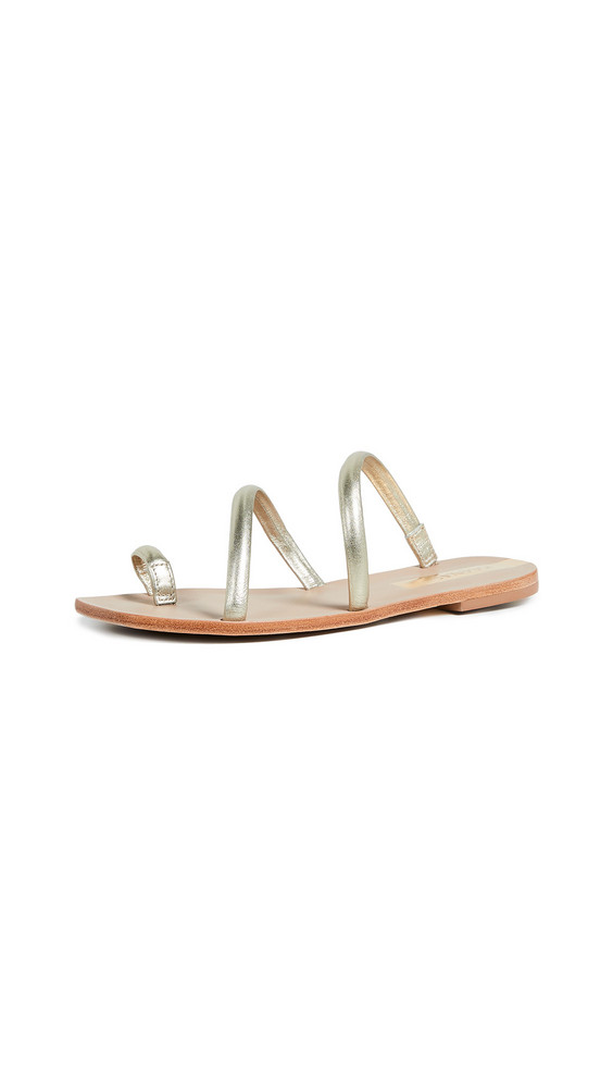 KAANAS Salvador Strappy Sandals in gold