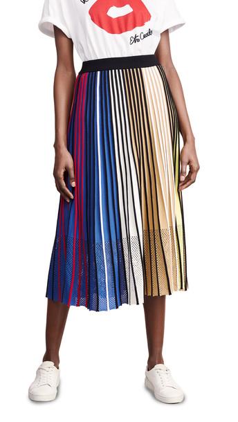 KENZO Vertical Rib Skirt