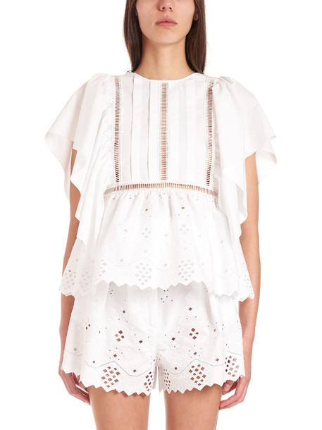Alberta Ferretti Top in white