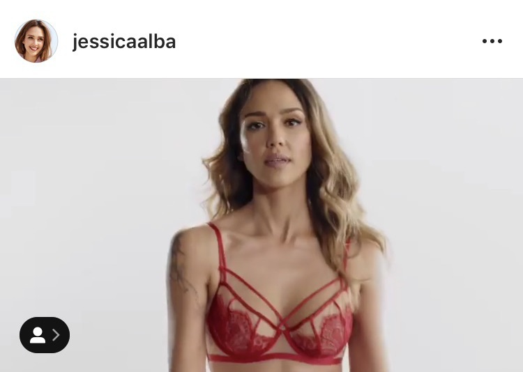 underwear red bra lingerie lace lingerie jessica alba