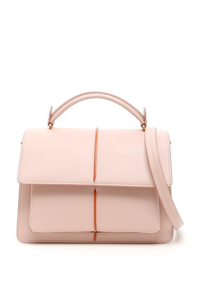 Marni Small Attache Bag in pink