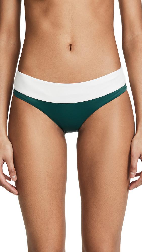 Tori Praver Swimwear Cammie Bikini Bottoms in emerald
