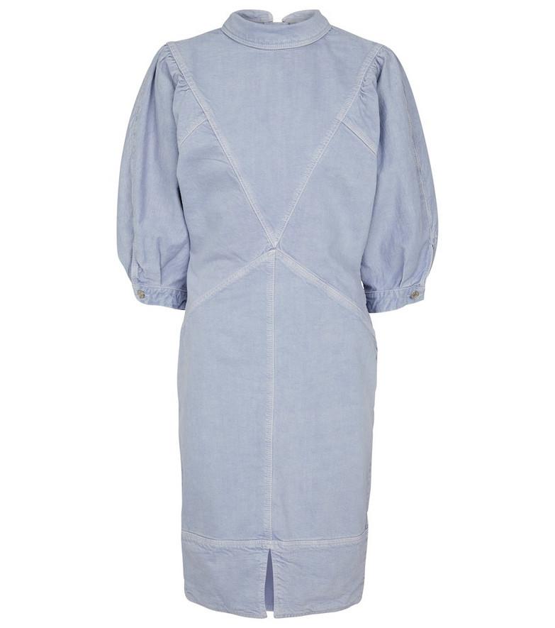 Isabel Marant, Étoile Laure denim minidress in blue