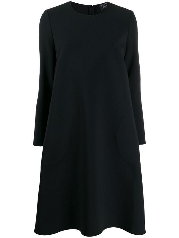 Gianluca Capannolo midi shift dress in black