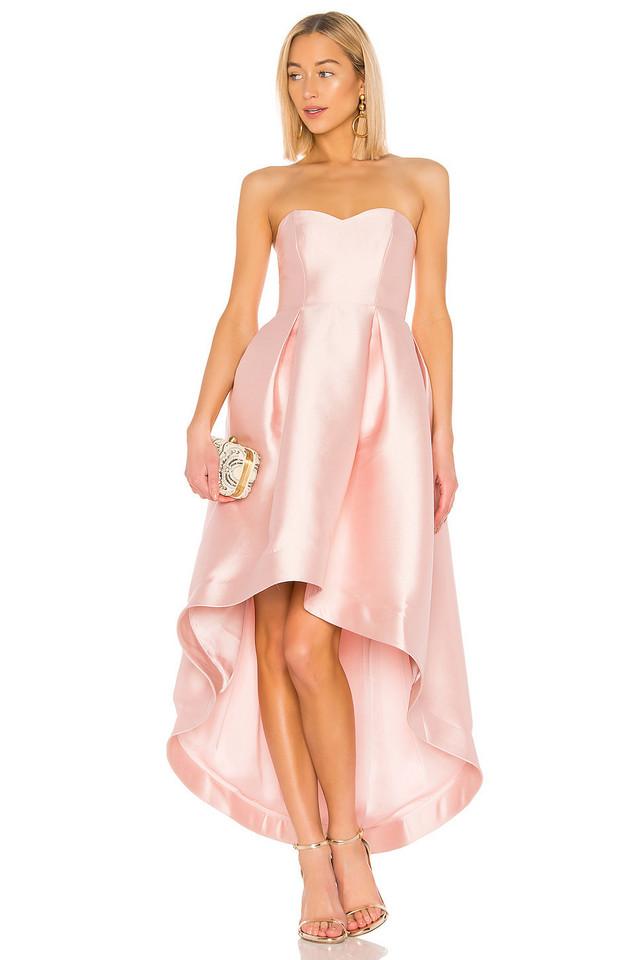 Parker Black Roxanne Gown in pink