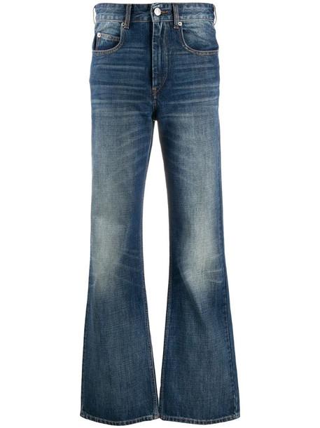 Isabel Marant Étoile straight leg jeans in blue