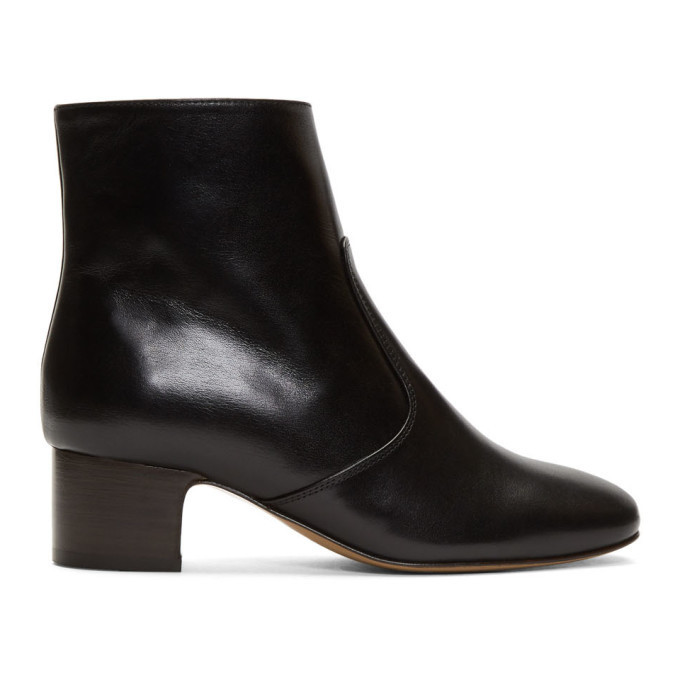 A.P.C. A.P.C. Black Joey Heeled Boots