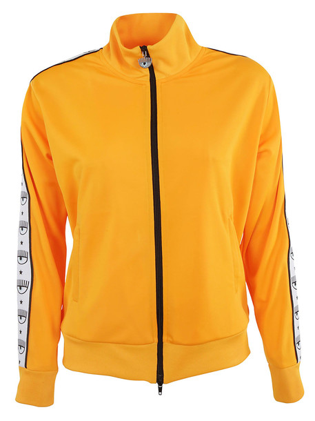 Chiara Ferragni 80s Track Jacket in yellow