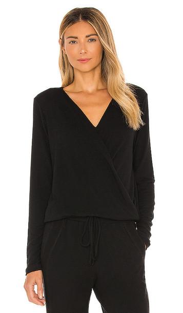Michael Stars Claudine Pullover in Black