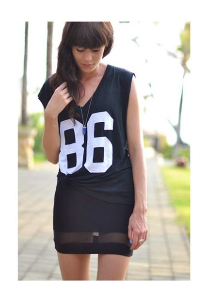 dress 86 sportswear number tee number t-shirt
