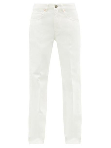 Raey - Push Straight Leg Jeans - Womens - White