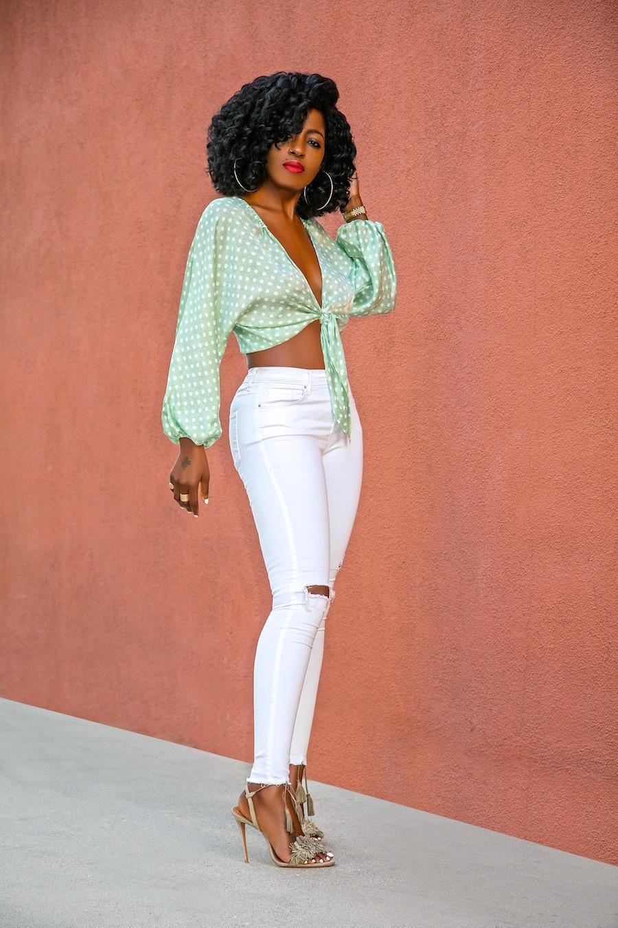 blogger top jeans shoes