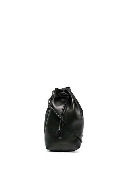 Jil Sander pouch-style bracelet bag in black