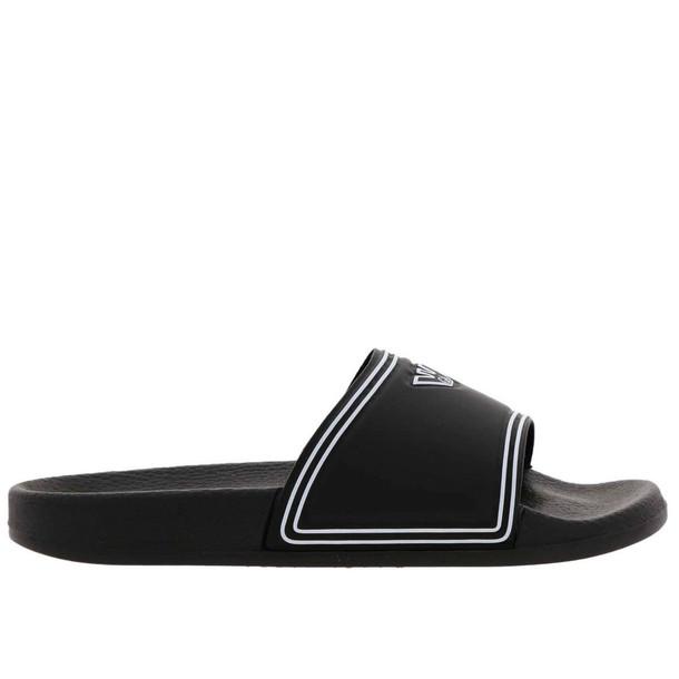Emporio Armani Flat Sandals Shoes Women Emporio Armani in black