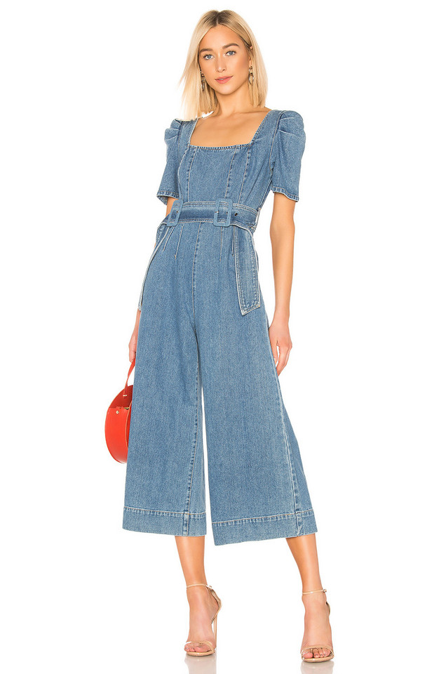 C/MEO Out Of Sight Jumpsuit in blue / denim