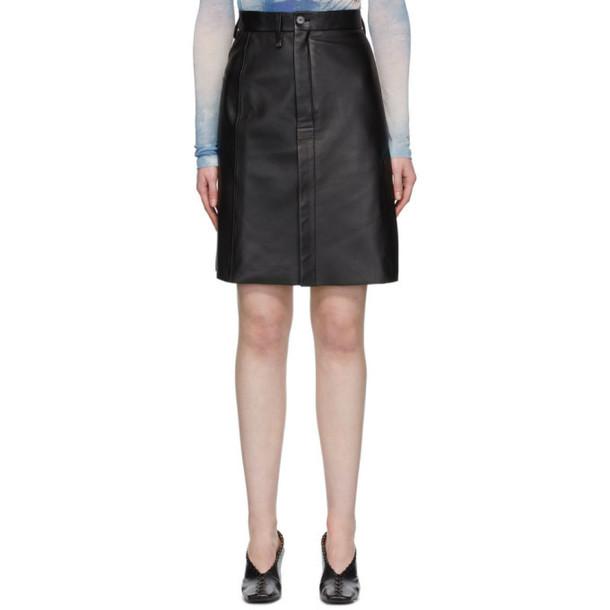 Acne Studios Black Lisbeth Skirt