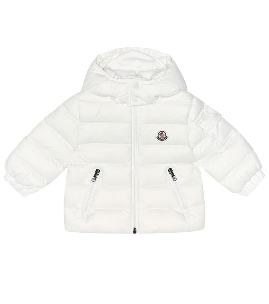 Moncler Enfant Baby Jules quilted down coat in white