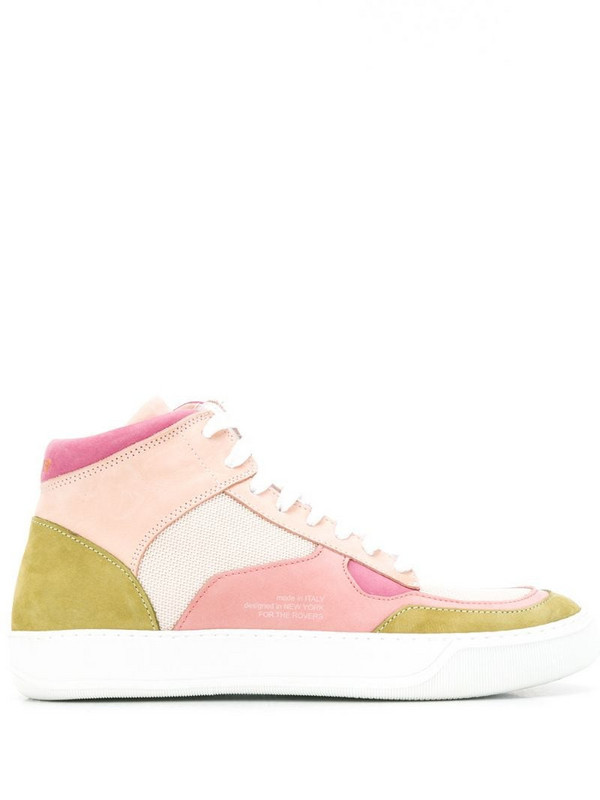 Rov Play Top Heritage trainers in pink