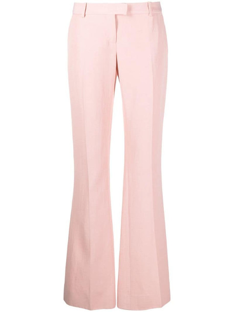 Ermanno Scervino boot-cut leg trousers in pink