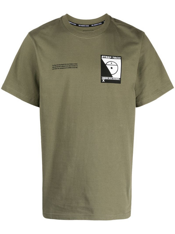 The North Face Steep Tech graphic-print T-Shirt in green
