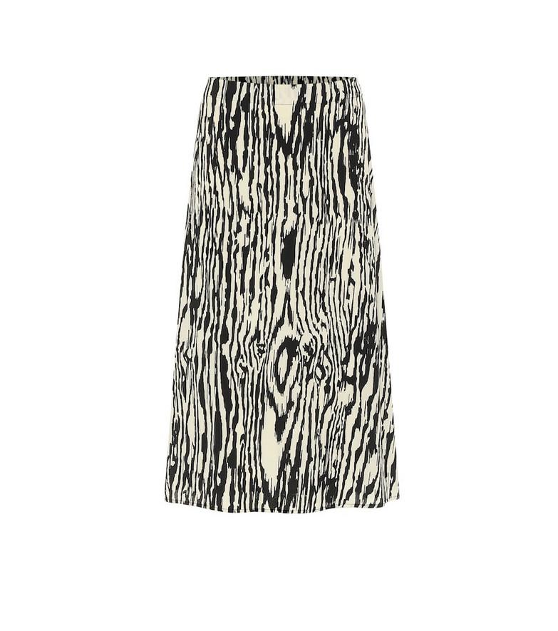 Baum und Pferdgarten Sanna printed midi skirt in black