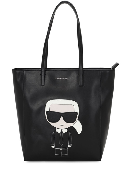 KARL LAGERFELD Karl Ikonik Tote in black