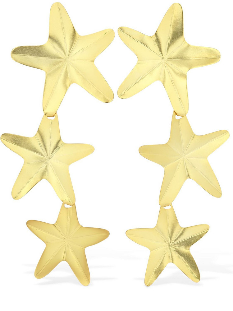 MERCEDES SALAZAR Starfish Clip-on Earrings in gold