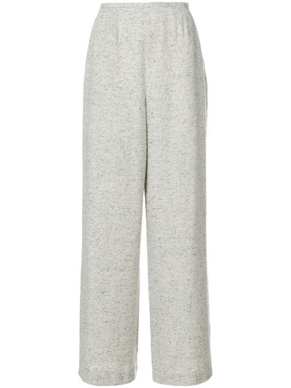 Jean Louis Scherrer Pre-Owned palazzo trousers in neutrals