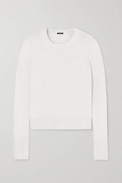 Joseph - Cashmere Sweater - Silver